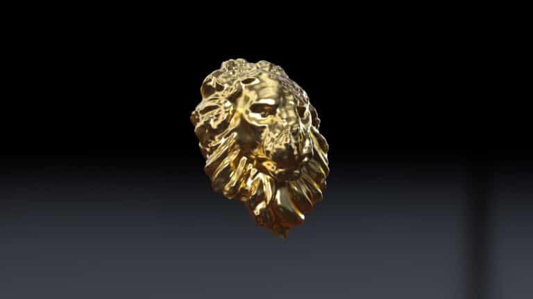 Doxia Studio Digital Art Houdini Tutorial Golden Lion Liquid